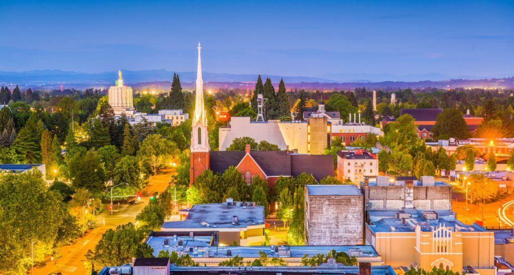 Retirement communities in Oregon